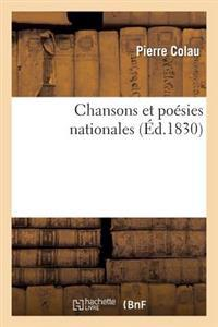 Chansons Et Poesies Nationales
