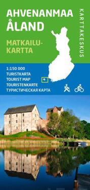 Ahvenanmaa matkailukartta, 1:150 000