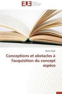 Conceptions Et Obstacles A L'Acquisition Du Concept Espece