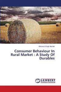 Consumer Behaviour in Rural Market