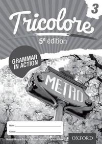 Tricolore 5e edition Grammar in Action Workbook 3 (8 pack)
