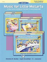 Music for Little Mozarts Teacher's Handbook, Bk 3 & 4