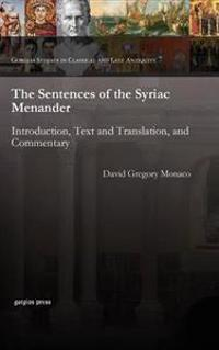 The Sentences of the Syriac Menander