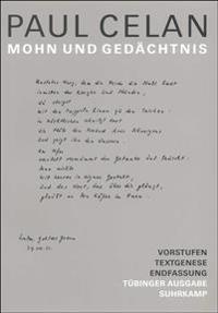 Werke. Tübinger Ausgabe. Mohn und Gedächtnis