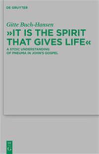"""""""It is the Spirit that Gives Life"""""""