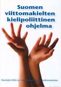 Suomen viittomakielten kielipoliittinen ohjelma (dvd)