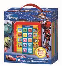 Mein Lese-Pad Disney Movies: Elektr.Lesepad und 8 Hardcover-Bücher