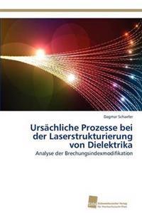 Ursachliche Prozesse Bei Der Laserstrukturierung Von Dielektrika
