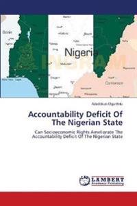 Accountability Deficit of the Nigerian State