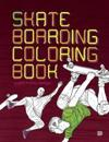 Skateboarding coloring book