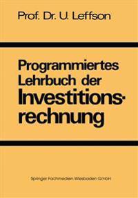 Programmiertes Lehrbuch Der Investitionsrechnung