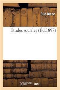 �tudes Sociales
