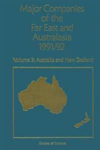 Major Companies of the Far East and Australasia 1991/92