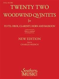 22 Woodwind Quintets: Woodwind Quintet