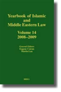 Yearbook of Islamic and Middle Eastern Law, Volume 14 (2008-2009)