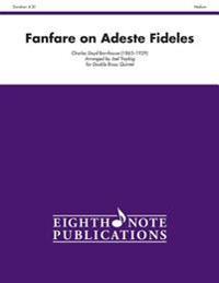 Fanfare on Adeste Fideles: Score & Parts