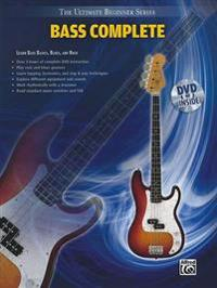 Bass Complete: Learn Bass Basics, Blues, and Rock [With DVD]
