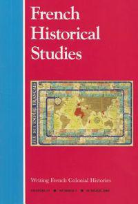 Writing French Colonial Histories