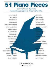 51 Pieces from the Modern Repertoire: Piano Solo