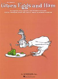 Green Eggs and Ham (Dr. Seuss): Full Score