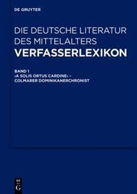 Verfasserlexikon - Die Deutsche Literatur Des Mittelalters: [Studienausgabe]