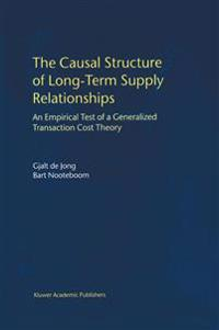 The Causal Structure of Long-Term Supply Relationships