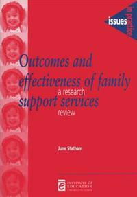 Outcomes and Effectiveness of Family Support Networks