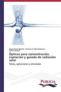 Opticas Para Concentracion, Captacion y Guiado de Radiacion Solar