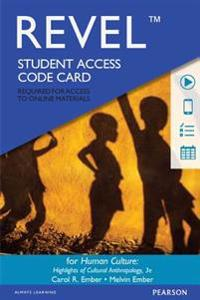 Revel for Human Culture: Highlights of Cultural Anthropology -- Access Card