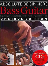 Bass Guitar [With 2 CDs and Pull Out Chart]