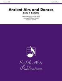 Ancient Airs and Dances: Suite 1 Balletto, Score & Parts