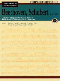 Beethoven, Schubert & More - Volume 1: The Orchestra Musician's CD-ROM Library - Timpani/Percussion