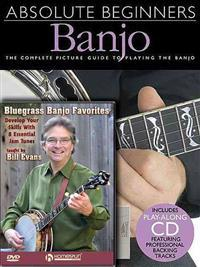 Bill Evans Banjo Pack: Includes Absolute Beginners - Banjo (Book/CD Pack) and Bluegrass Banjo Favorites (DVD)