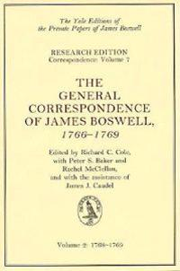 The General Correspondence of James Boswell, 1766-1769: Volume 2: 1768-1769