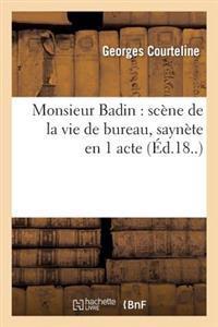 Monsieur Badin
