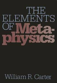 The Elements of Metaphysics