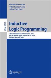 Inductive Logic Programming