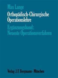 Orthop�disch-Chirurgische Operationslehre