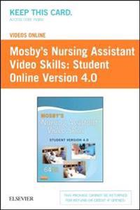 Mosby's Nursing Assistant Video Skills: Student Online Version 4.0 (Access Code)