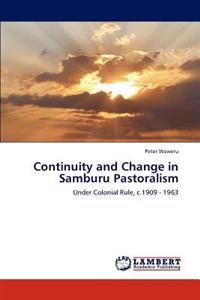 Continuity and Change in Samburu Pastoralism