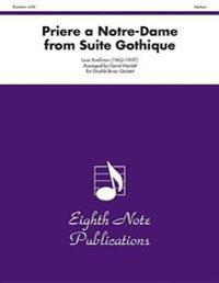 Priere a Notre-Dame (from Suite Gothique): Score & Parts