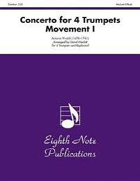 Concerto for 4 Trumpets (Movement I): Score & Parts