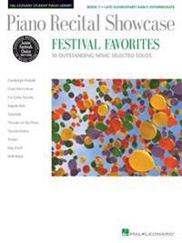 Piano Recital Showcase: Festival Favorites, Book 1: 10 Outstanding NFMC Selected Solos