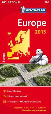 Europa 2015 Michelin 705 karta : 1:3milj