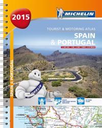 Spanien Portugal 2015 Atlas Michelin A4 : 1:400000