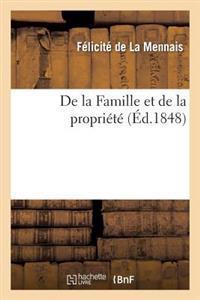 de La Famille Et de La Propriete