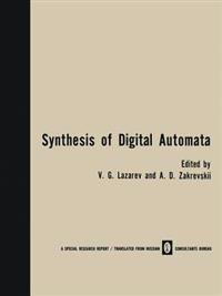 Synthesis of Digital Automata / Problemy Sinteza Tsifrovykh Avtomatov