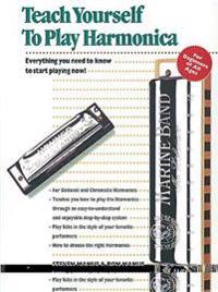 Alfred's Teach Yourself to Play Harmonica: Everything You Need to Know to Start Playing Now!, Book, Enhanced CD & Harmonica