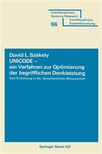 Unicode - Ein Verfahren Zur Optimierung Der Begrifflichen Denkleistung