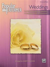 Popular Performer -- Weddings: The Best Pop Hits for Wedding Services